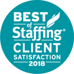 Artisan Talent - Best of Staffing: Client Satisfaction 2018 Award