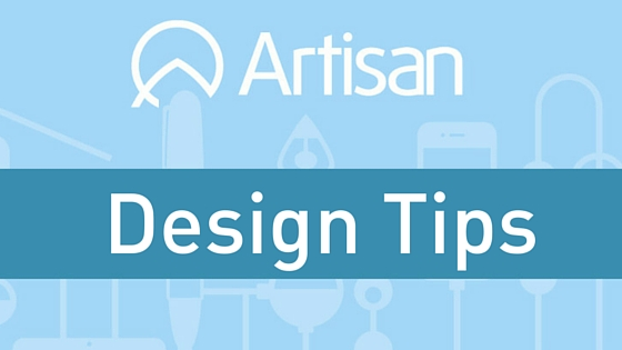 Design Tips and tips for new designers