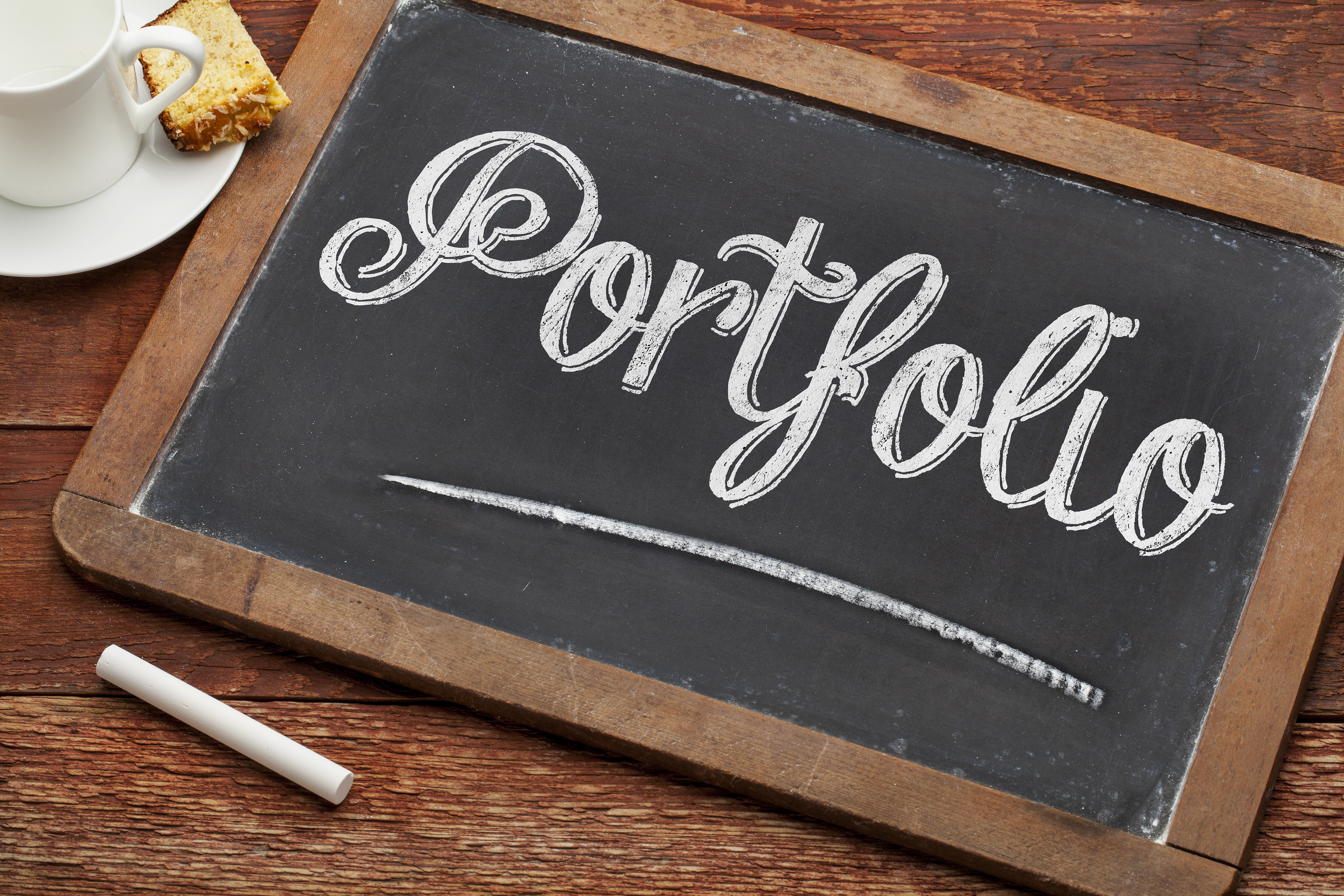 picture of a portfolio