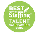 Winner, Best of Staffing Talent Satisfaction 2015
