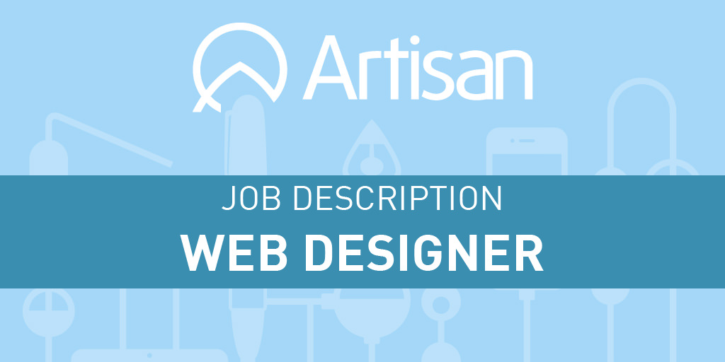 Web Designer Job Description  Artisan Talent