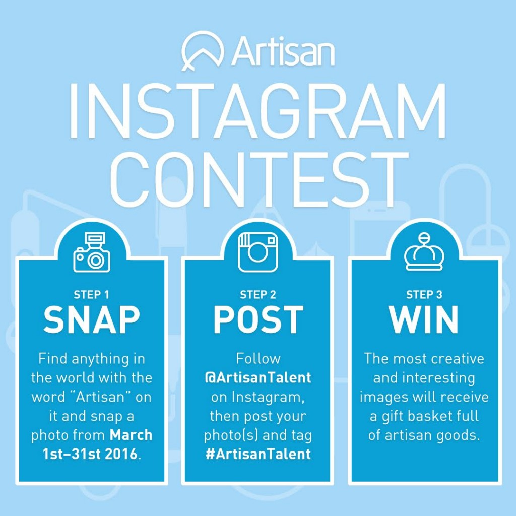 Artisan Talent Instagram Contest