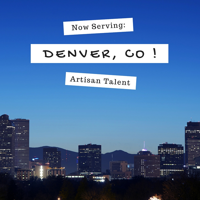 Artisan Talent expands to Denver Colorado - Artisan Denver