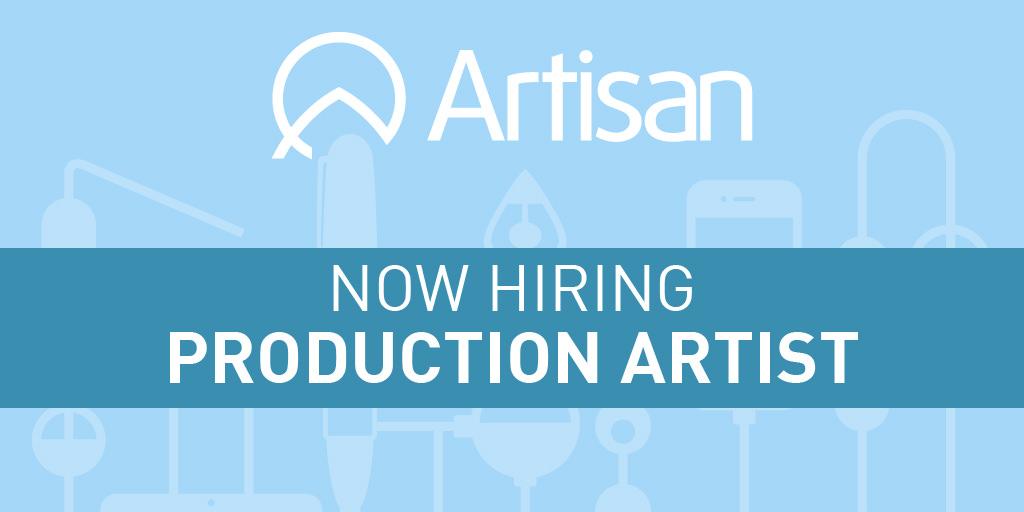Production Artist Job Description Artisan Talent – Production Artist