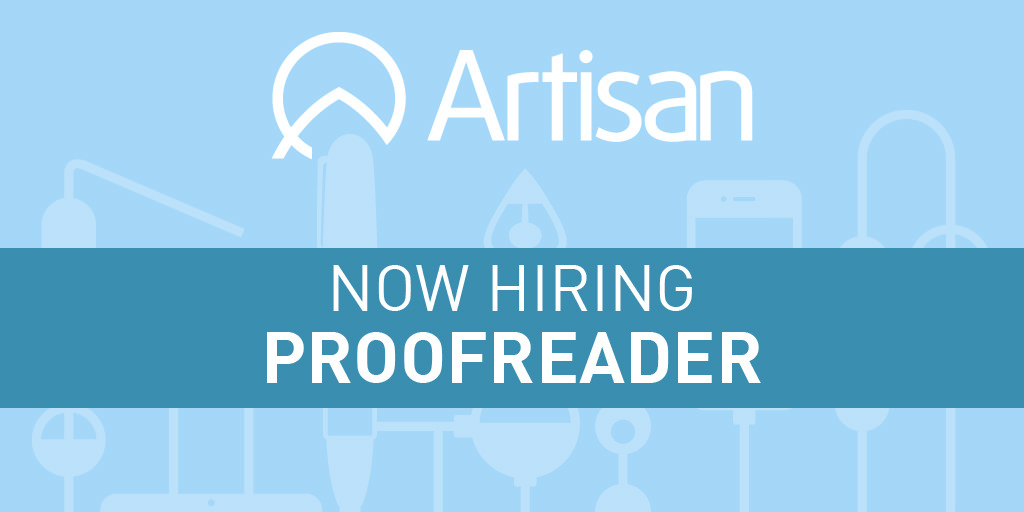 Editor  Proofreader Job Description  Artisan Talent
