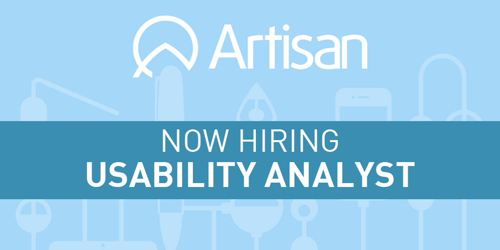 Usability Analyst Job Description - Artisan Talent