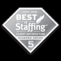 best of staffing client 2014-18 artisan talent
