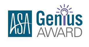 ASA Genius award